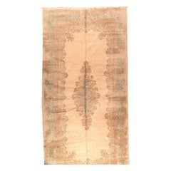 Fine Vintage Persian Kerman Rug, Hand Knotted, circa 1950s
