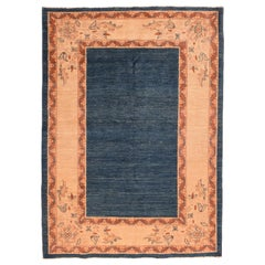 Fine Vintage Persian Tribal Gabbeh Rug, Hand Knotted, circa 1970s