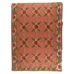 Fine Vintage Sumak Manchoria/Russian Rug, Flat Weave Hand Knotted, circa 1970s