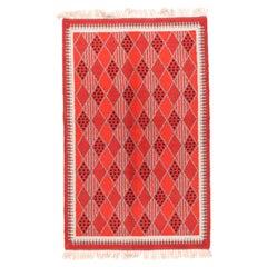 Fine Vintage Swedish Rug/Carpet, Hand Knotted, circa 1950s