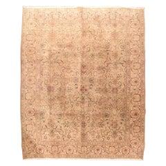 Fine Vintage Tabriz Persian Rug, Hand Knotted, circa 1930