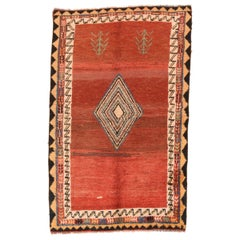 Fine Vintage Tribal Persian Gabbeh, Hand Knotted, circa 1930s