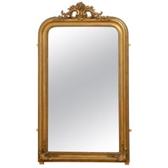 Fine 19th Century French Giltwood Mirror
