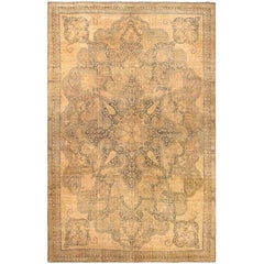 Finely Woven Oversized Antique Kerman Carpet. Size: 17 ft 3 in x 27 ft 1 in