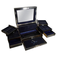 Finest Grand Large Antique English Coromandel Jewellery Box, circa 1860