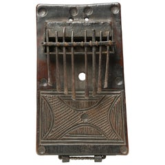 Finest Mbira or Sanza Congo Early 20th Century African Tribal Musical Instrument