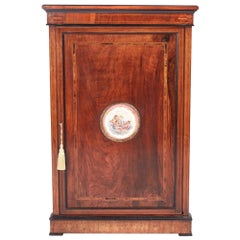Finest Quality Victorian Inlaid Walnut Corner Cabinet
