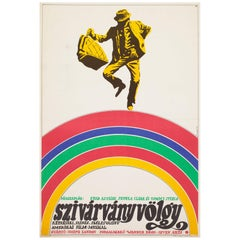 Finian's Rainbow 1970 Hungarian Film Poster, Pecsenke