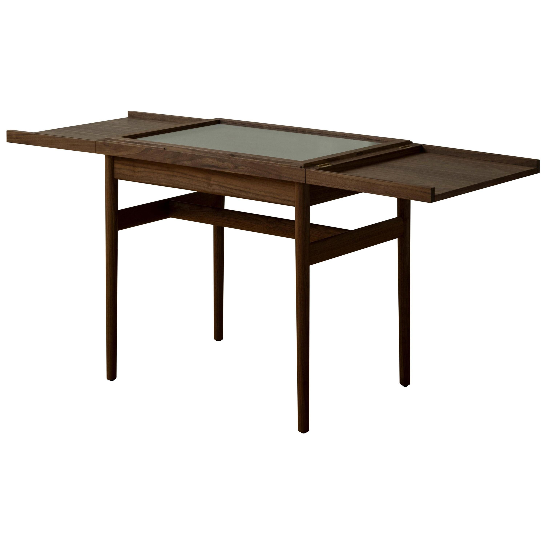 Finn Jhul Art Collector's Vitrine Coffee Table in Wood