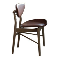Finn Juhl 108 Chair, Wood and Fabric by House of Finn Juhl