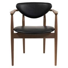 Finn Juhl 109 Walnut, Elegance Black