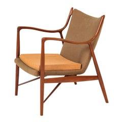 Finn Juhl 45 Chair Teak Niels Vodder, Denmark, 1950s