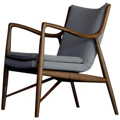 Finn Juhl 45 Chair Walnut, Fuse Upholstery