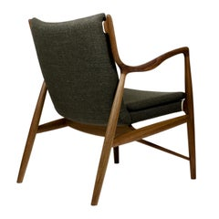 Finn Juhl 45 Chair Walnut, Upholstery