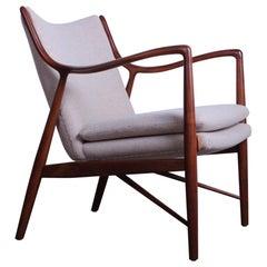 """Finn Juhl """"45"""" Lounge Chair for Baker"""