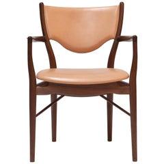Finn Juhl 46 Chair Armrests, Walnut, Vegetal Nature