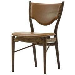 Finn Juhl 46 Chair, Wood and Elegance Walnut Leather