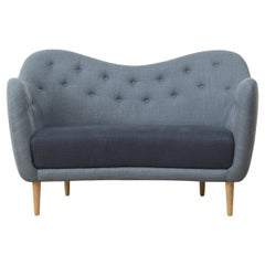 Finn Juhl 46 Sofa Couch Wood and Fabric