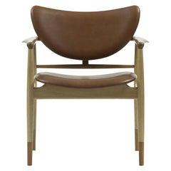 Finn Juhl 48 Chair, Wood and Leather