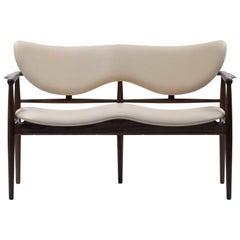 Finn Juhl 48 Sofa Bench Wood and Leather