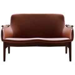 Finn Juhl 53 Leather Sofa by House of Finn Juhl