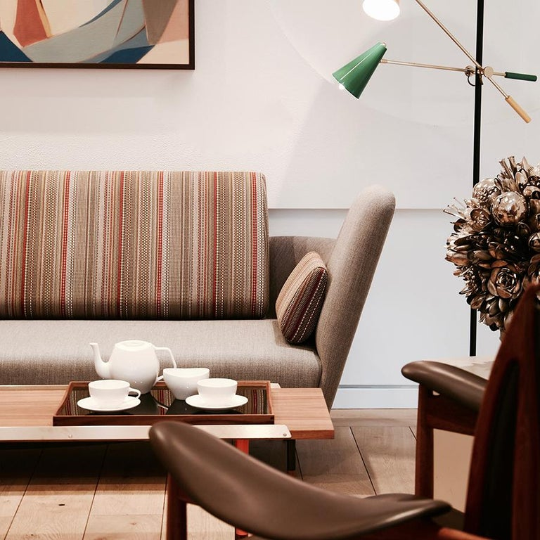 Contemporary Finn Juhl 57 Sofa by House of Finn Juhl For Sale