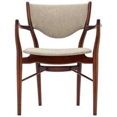 Finn Juhl Armchair BO-46 in Original Savak Fabric