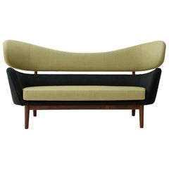 Finn Juhl Baker Sofa 1951 Green Walnut Remix
