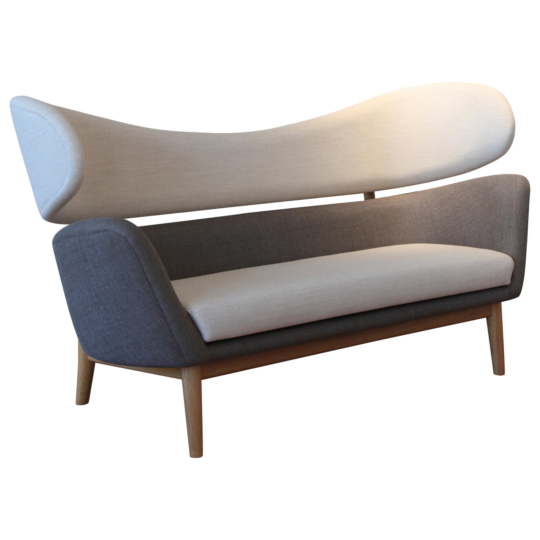 Finn Juhl Baker Sofa 1951 Grey Walnut Remix