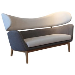 Finn Juhl Baker Sofa 1951 Grey Walnut Remix