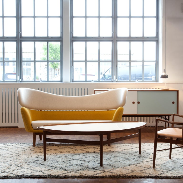 Upholstery Finn Juhl Baker Sofa Couch Halk fabric, 1951 For Sale