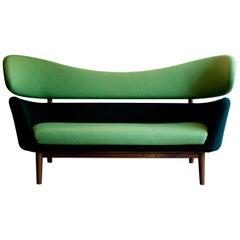 Finn Juhl Baker Sofa Couch Halk Fabric