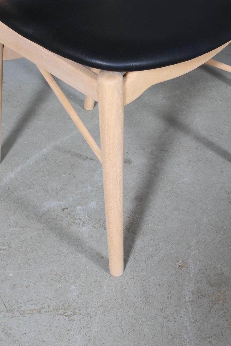 Danish Finn Juhl BO 63 'NV 64' Chair, Bovirke, Denmark, 1950s For Sale