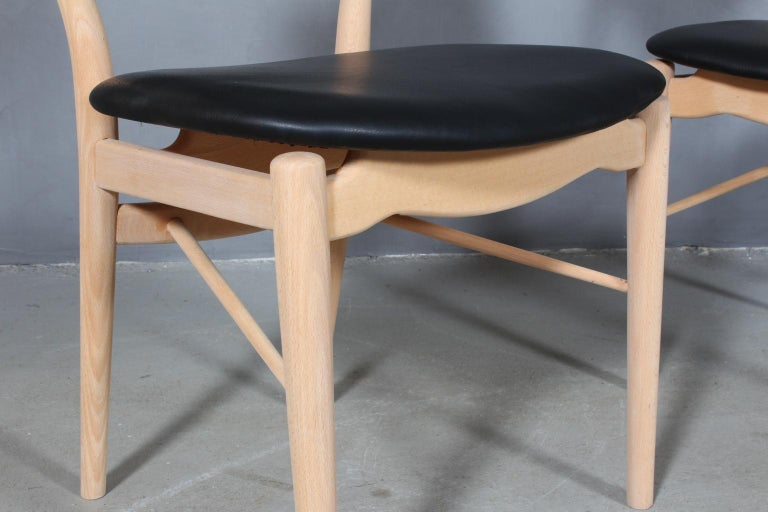 Finn Juhl BO 63 'NV 64' Chair, Bovirke, Denmark, 1950s In Good Condition For Sale In Esbjerg, DK