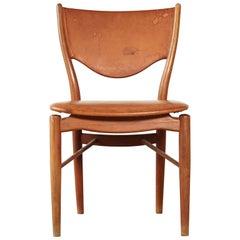 Finn Juhl BO 63 (NV 64) Chair, Bovirke, Denmark, 1950s