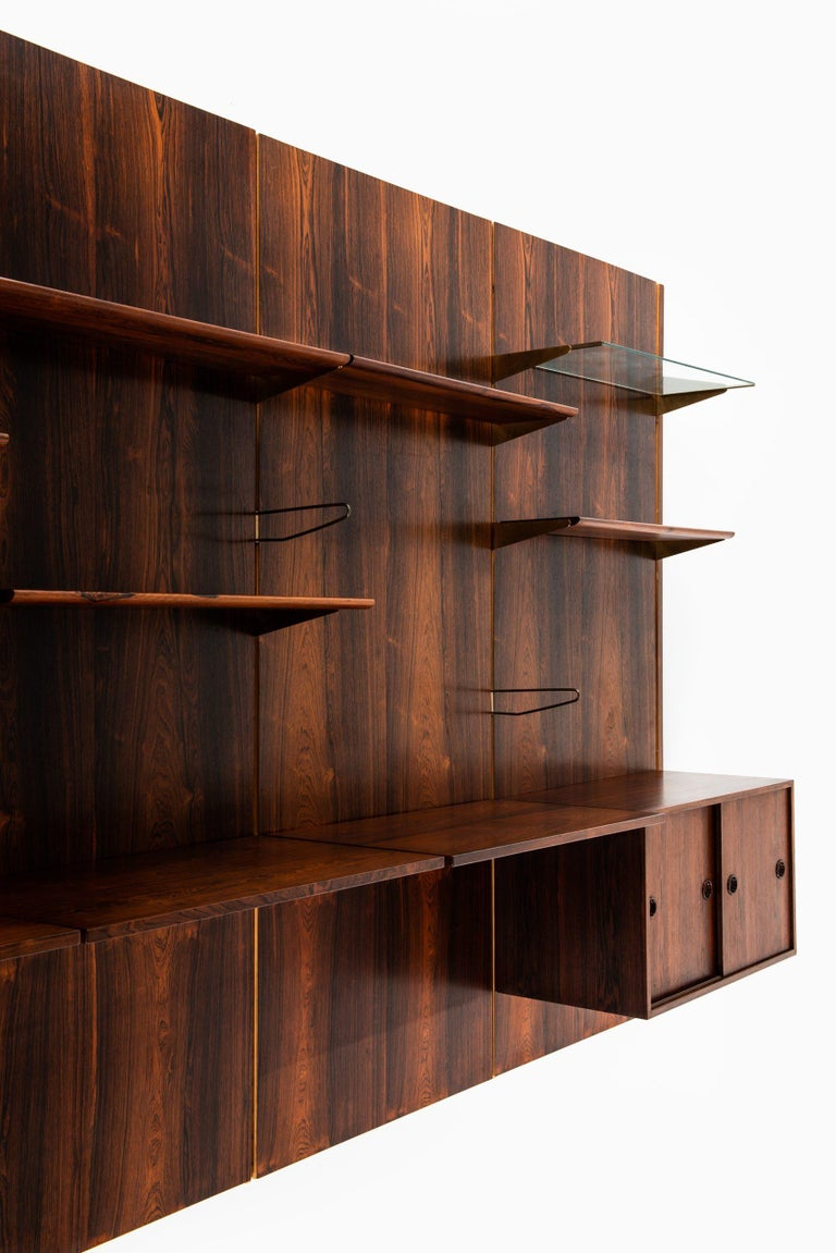 Scandinavian Modern Finn Juhl Bookcase Produced by Bovirke in Denmark For Sale