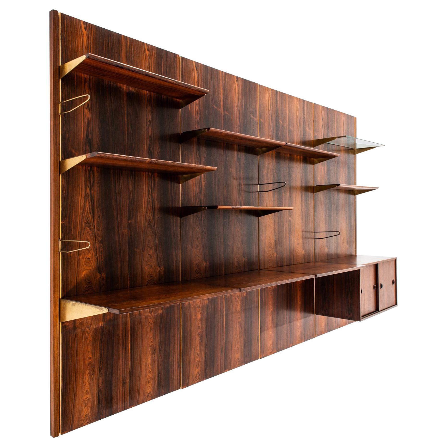 Finn Juhl Bookcase Produced by Bovirke in Denmark