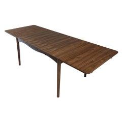 Finn Juhl Borvirke Table Wood with Extensions Leaves