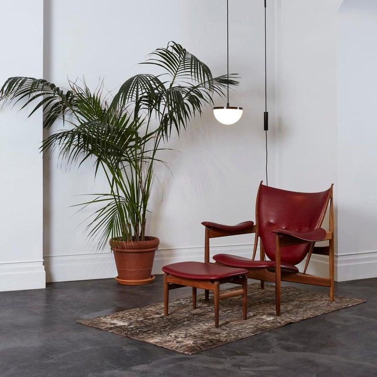 Finn Juhl Chieftain Armchair Wood and Leather For Sale 1