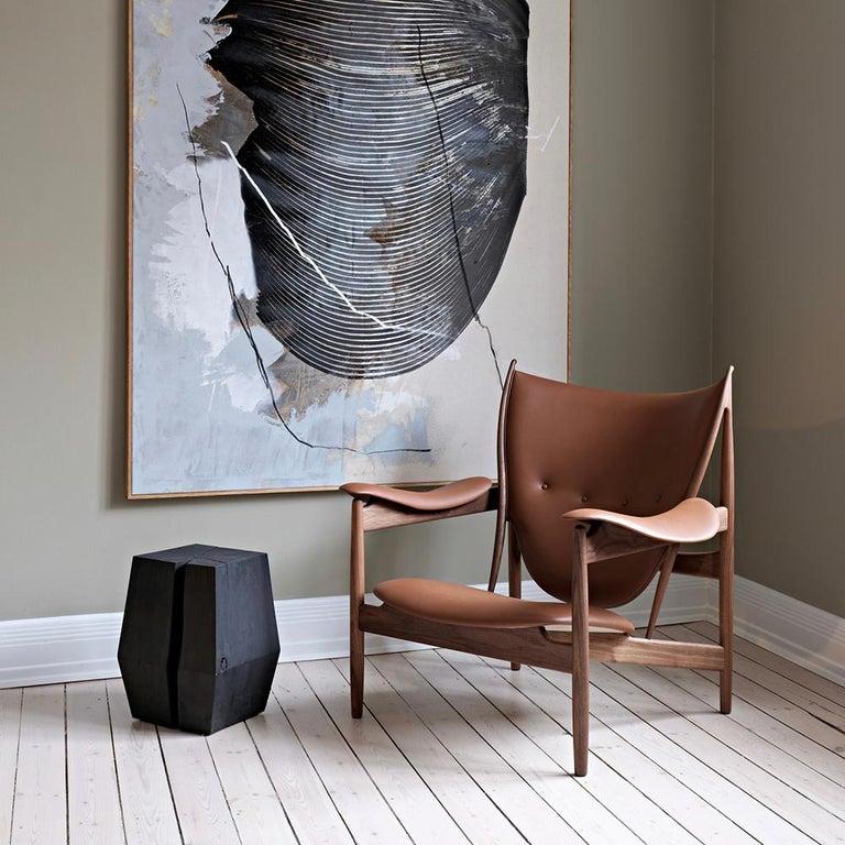 Finn Juhl Chieftain Armchair Wood and Leather For Sale 3