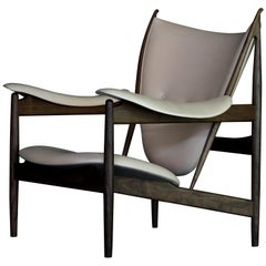 Finn Juhl Chieftain Armchair Wood and Leather