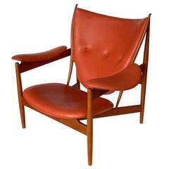 Finn Juhl Chieftain Chair in Teak by Niels Roth Andersen