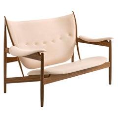 Finn Juhl Chieftain Sofa Couch Walnut Vegetal Nature Leather