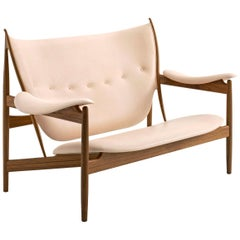 Finn Juhl Chieftain Sofa Couch Wood and Leather