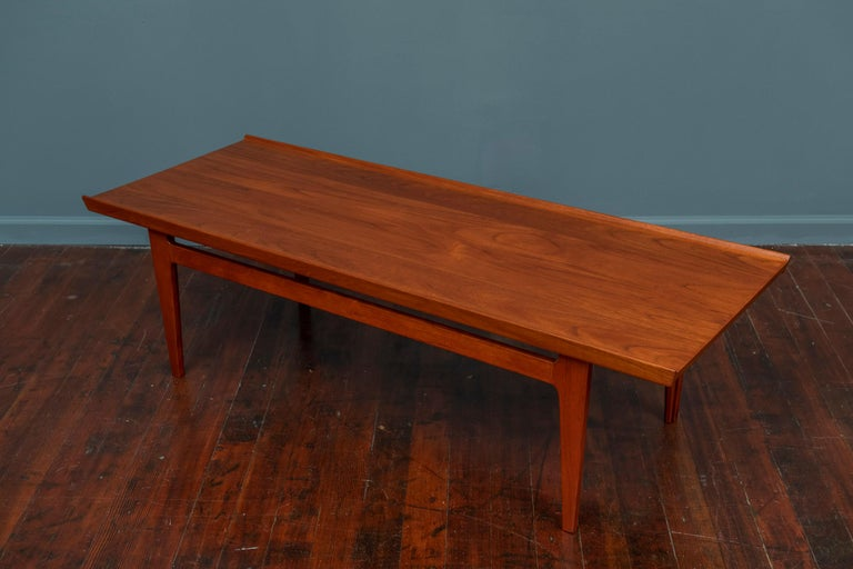 Finn Juhl Coffee Table Fd 32 France & Son In Good Condition For Sale In San Francisco, CA