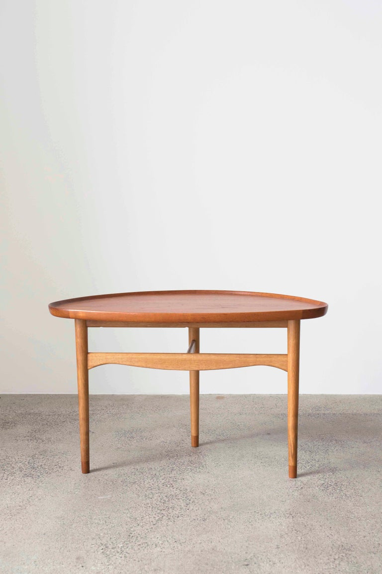 Scandinavian Modern Finn Juhl Coffee Table for Bovirke, 1948 For Sale
