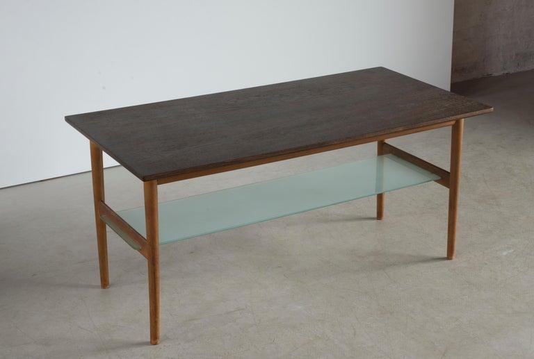 Finn Juhl Coffee Table for Niels Vodder In Good Condition For Sale In Copenhagen, DK