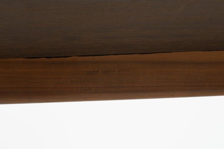 Glass Finn Juhl Coffee Table for Niels Vodder For Sale