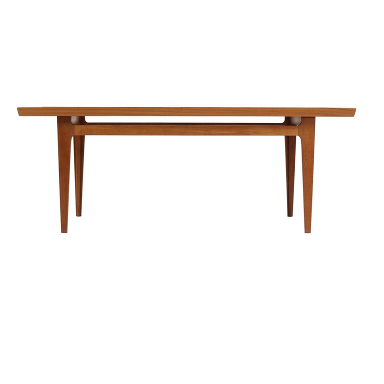 Finn Juhl Coffee Table in Teak Wood for France and Son ...