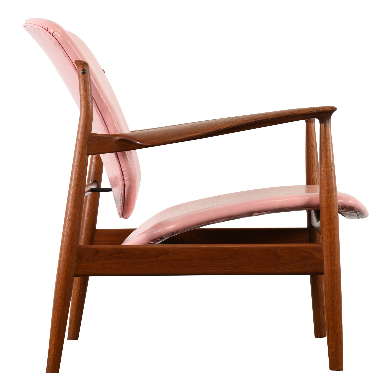 Finn Juhl Danish Teak FD 136 Chair, 1950s